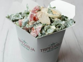 Popeye chicken salad Trpezarija salad bar delivery