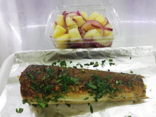 Hake meal delivery
