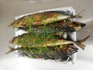 Mackerel delivery