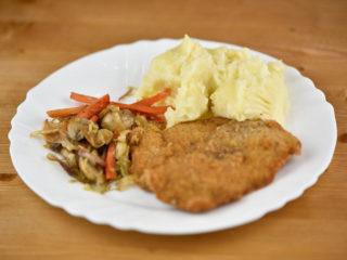 Viennese chicken steak delivery