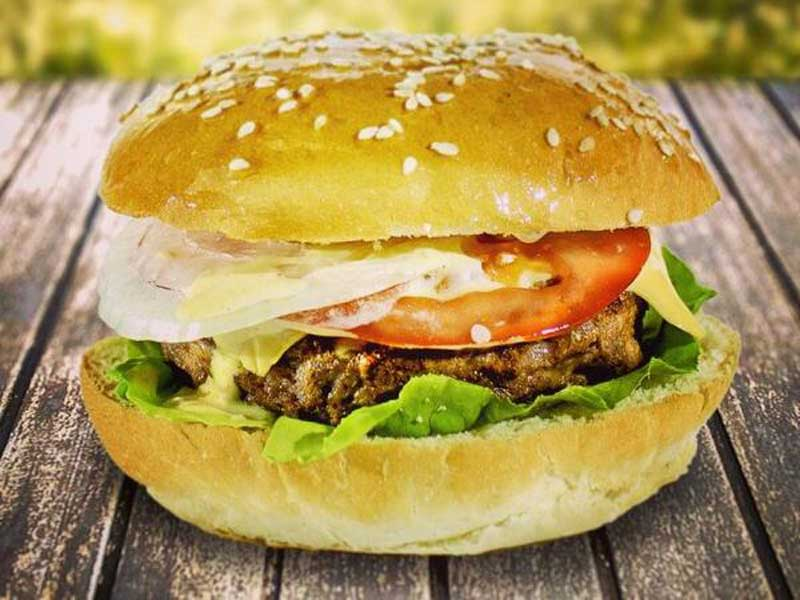 Chicken burger delivery