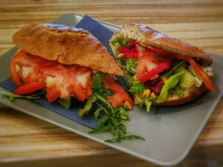 Ciabatta vege Garden food & bar delivery