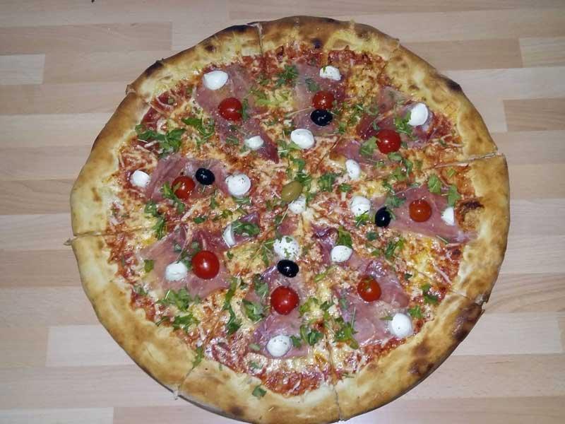 Pršuto pica dostava