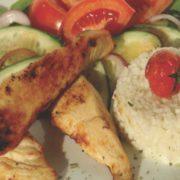 Fitnes obrok sa piletinom
