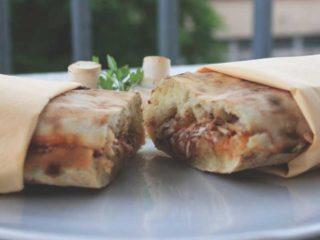 Lowfat sandwich delivery