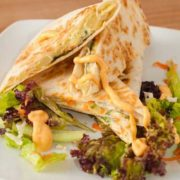 Quesadilla sandwich – Chicken salad