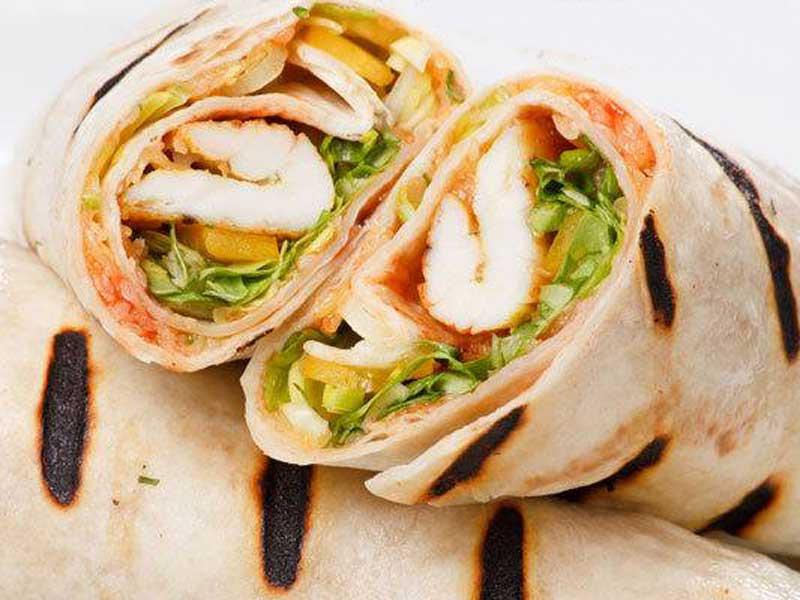 Burrito grande sendvič sa pilećim fileom dostava