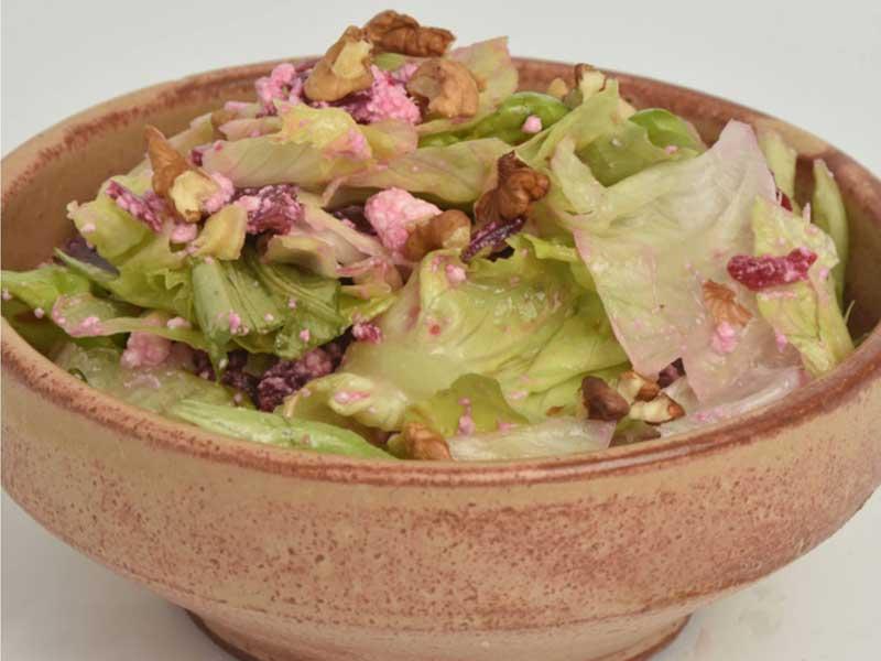 Lettuce salad delivery