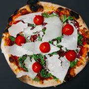 Bresaola classic pizza