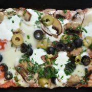 Funghi e olive