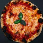 Margherita classic pizza