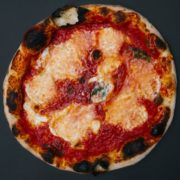 Margherita buffalo dop classic pizza