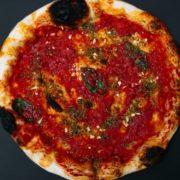 Marinara classic pizza