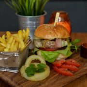 Craft Complet Burger + french fries
