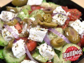 Greek salad delivery