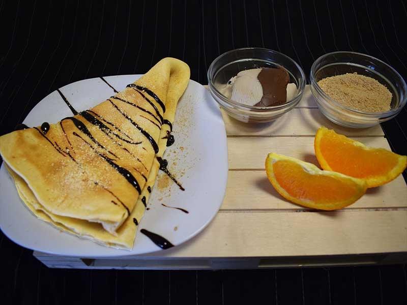 Jaffa pancake delivery