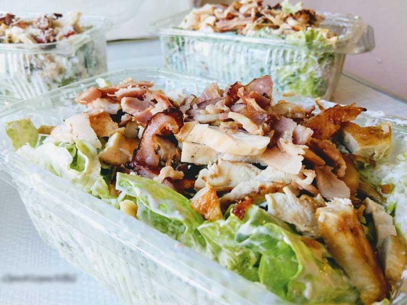 Sanja salad delivery
