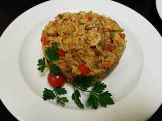 Fasting pilaf with vegetables delivery