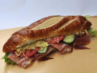 Sandwich prosciutto delivery