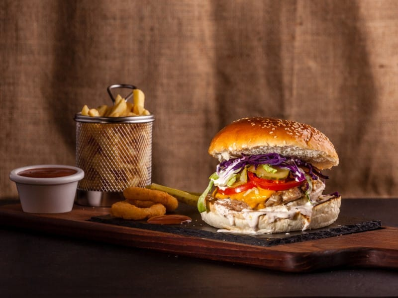 Chicken burger dostava