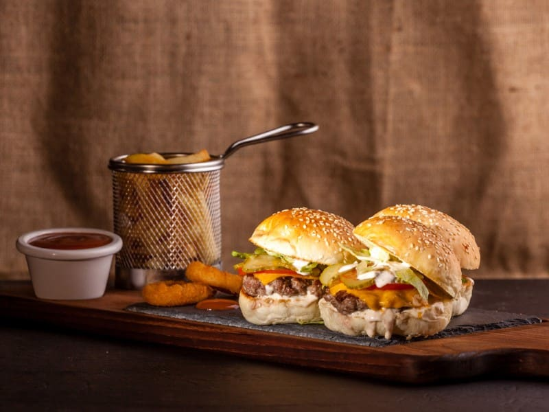 Triple Mini burgers dostava