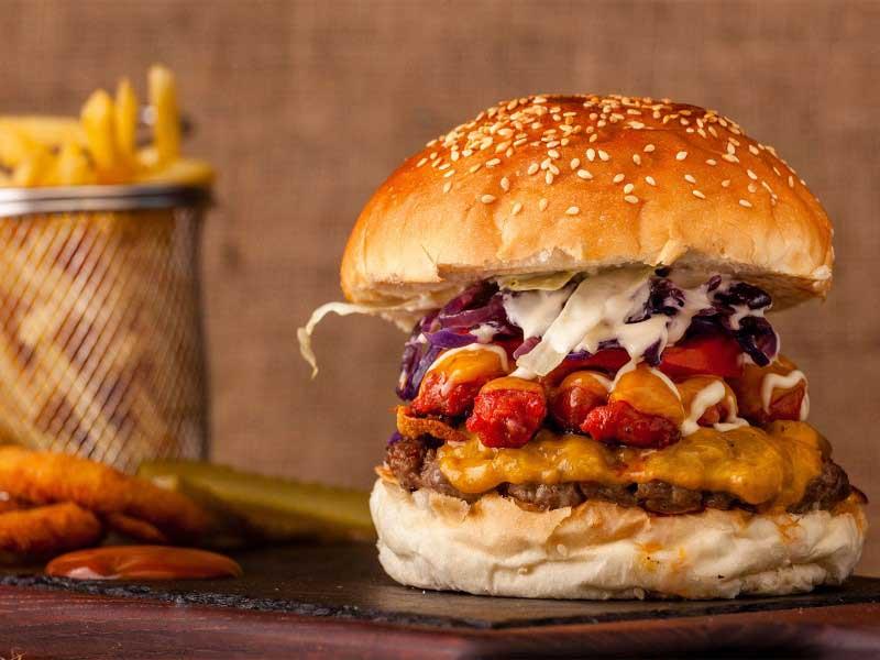 Mexico burger delivery