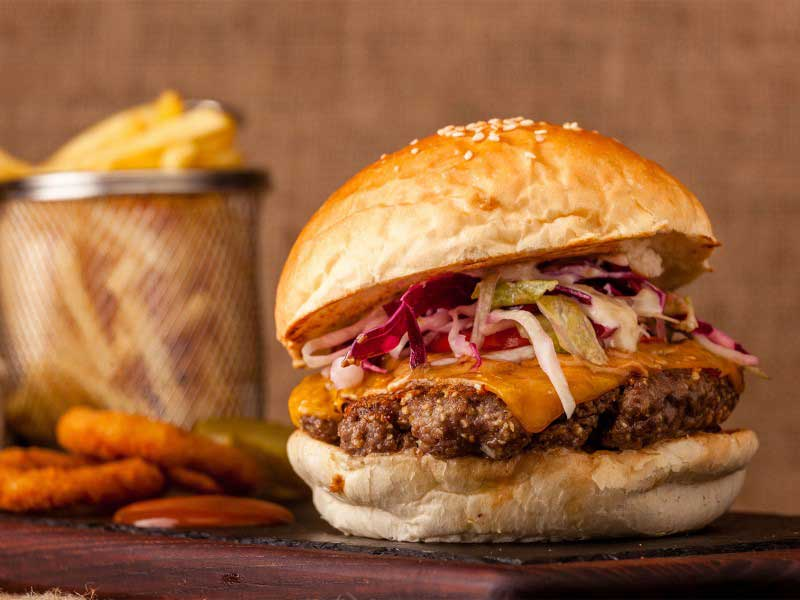 Thai burger dostava