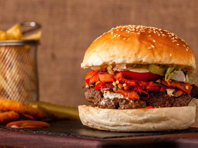 Greek burger delivery
