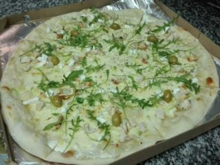 Chicken pizza Naj pizza i sendvič bar delivery