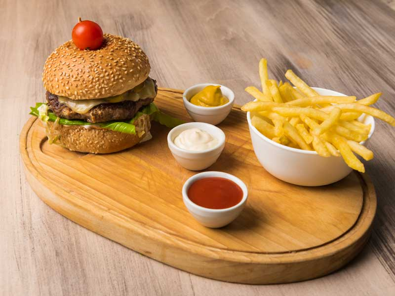 Diner style burger dostava