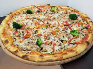Veggie pizza Verona Cut delivery