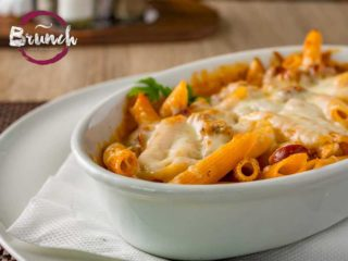 Baked penne with sausage and turkey delivery