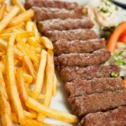 Cevapi with French fries