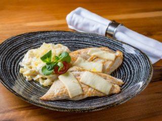 Ćuretina sa kozijim sirom i Parma taljatelama dostava