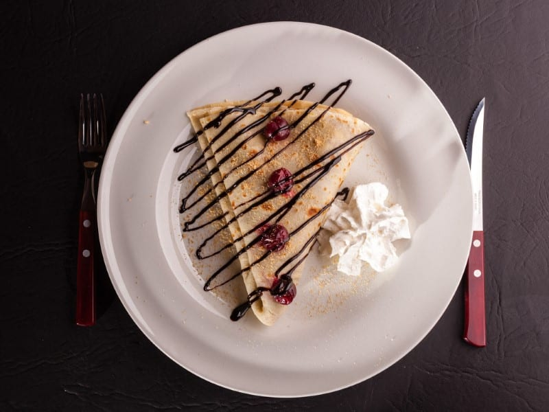 Pancake Schwarzwald delivery