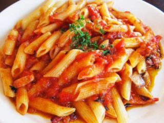 Pasta Arrabiata delivery