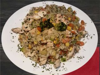 Chicken risotto with vegetables dostava