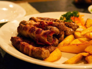 Beef cevapi delivery