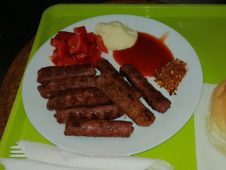 Cevapi delivery