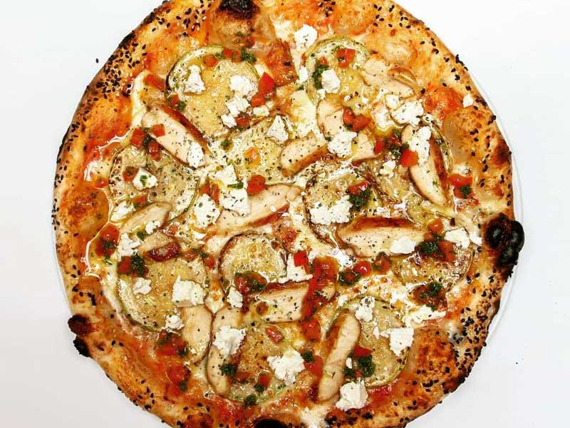 Chicken pizza delivery
