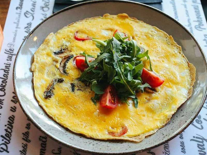 Omelete Fritata delivery