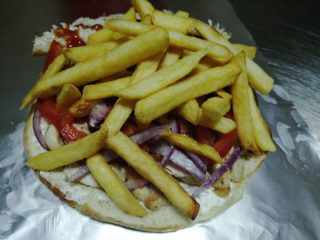 Gyro sandwich delivery