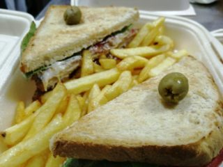 Club sandwich 1 delivery