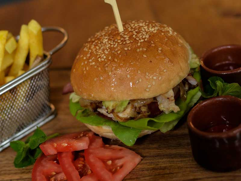 Craft Grilled Chicken Burger delivery