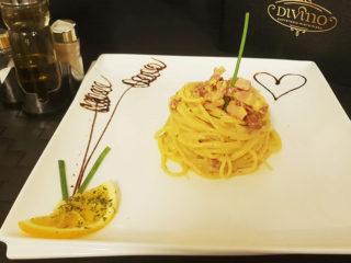 Špageti karbonara dostava