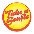 Take a Senfie food delivery Pariske Komune