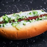 Tzatziki Hot Dog