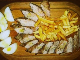 Boneless chops grilled dostava