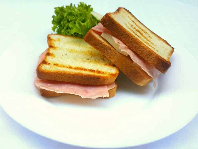 Tost ham, cheese delivery