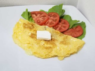 Omelet meal Verona Cut delivery